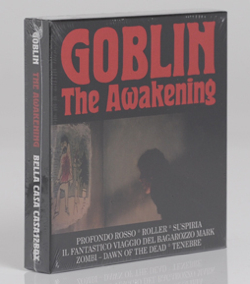GOBLIN - The Awakening 6CD Boxset - Rosso Aka Deep Red (1975), Roller (1976), Suspiria (1977), Il Fantastico Viaggio Del Bargarozzo Mark (1978), Zombi Aka Dawn Of The Dead (1978), Tenebre (1982)