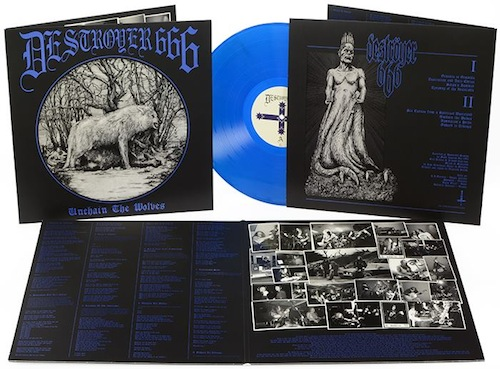 DESTROYER 666 - Unchain The Wolves VINYL LP